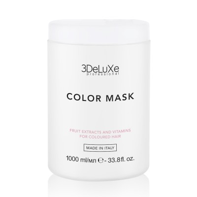 Маска за боядисана коса 3DeLuXe Color Mask 1000 мл