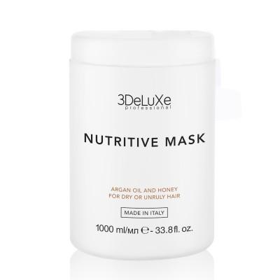 Дълбоко хидратираща маска 3DeLuXe Nutritive Mask 1000 мл