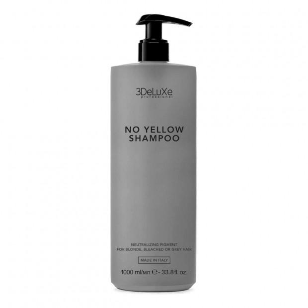 Шампоан за тониране на руса коса 3DeLuXe NO Yellow Shampoo 1000 мл