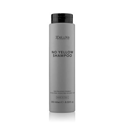 Шампоан за тониране на руса коса 3DeLuXe NO Yellow Shampoo 250 мл