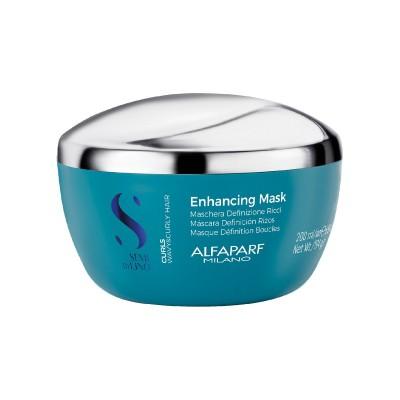 Дълбоко хидратираща маска за къдрава коса Alfaparf Curls Enhancing Mask 200 мл