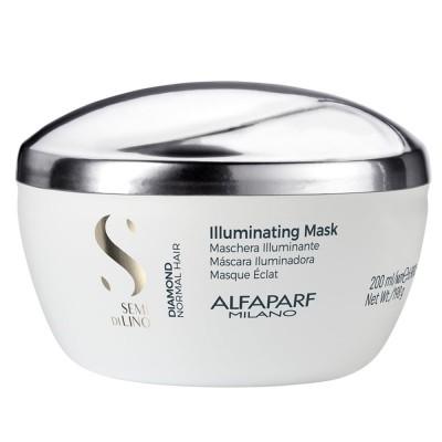 Маска с ленено семе за диамантен блясък Alfaparf Illuminating 200 мл