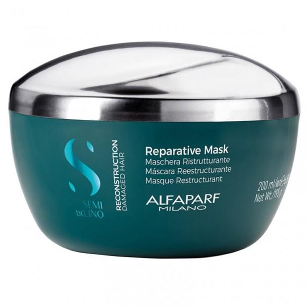 Възстановяваща маска с бамбук Alfaparf Reparative Mask 200 мл