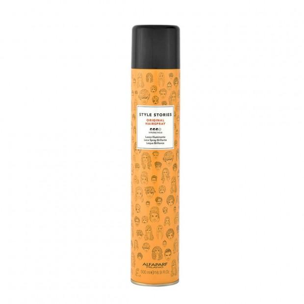 Лак за коса със силна фиксация Alfaparf Style Stories Original Hairspray 500 мл