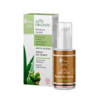 Подмладяващ и успокояващ серум за лице с алое AVA Aloe Organic 30 мл