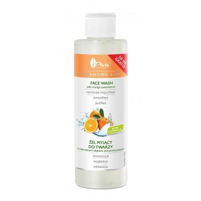 Почистващ гел за лице с портокалово масло AVA Cleansing Line 200 мл