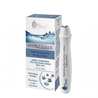 Дълбоко хидратиращ серум за очи с лифтинг ефект AVA Hydro Laser 15 мл
