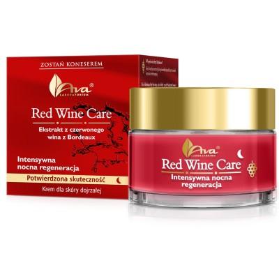 Нощен крем с усъвършенствано действие против бръчки AVA Red Wine Care 50 мл