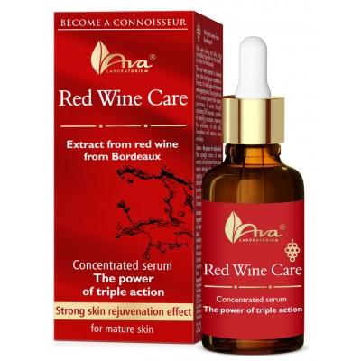 Концентриран серум с тройно действие против бръчки AVA Red Wine Care 30 мл