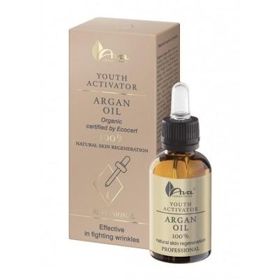 Серум против бръчки със 100% арган AVA Youth Activator Argan Oil 30 мл