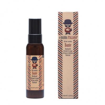 Гел за бръснене Barba Italiana Shaving Gel Dante 100 мл