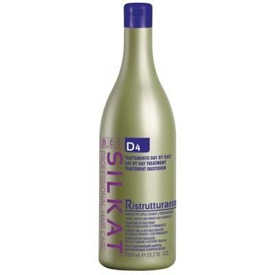 Възстановяващ и подхранващ шампоан BES D4 Silkat Ristrutturante 1000 мл