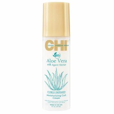Хидратиращ крем за къдрици CHI Aloe Vera Moisturizing Curl Cream 147мл
