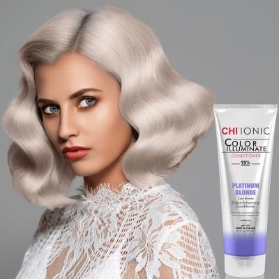 Тониращ балсам в платинено русо CHI Color Illuminate Platinum Blonde 251 мл