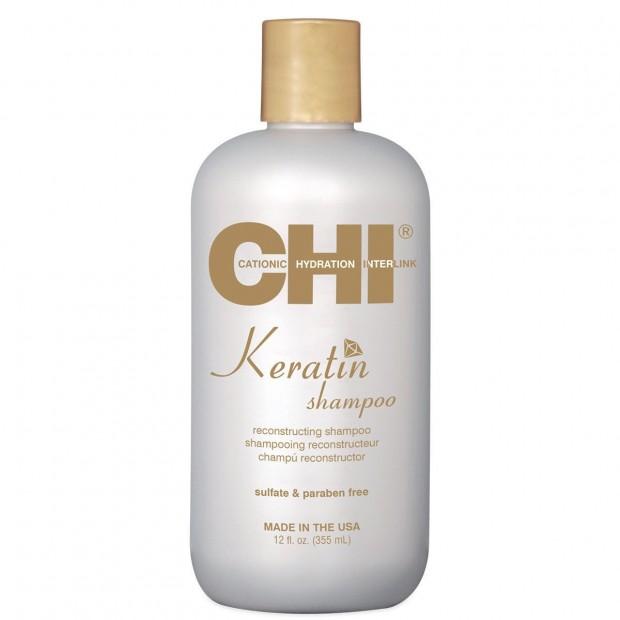 Реконструиращ шампоан с кератин CHI Keratin Shampoo 355 мл