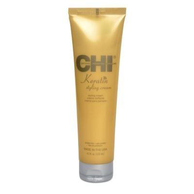 Стилизиращ крем за изглаждане с кератин CHI Keratin Cream 133 мл