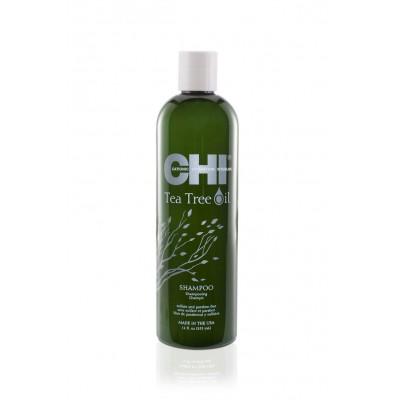 Балансиращ шампоан за чувствителен скалп CHI Tea Tree Oil 355 мл