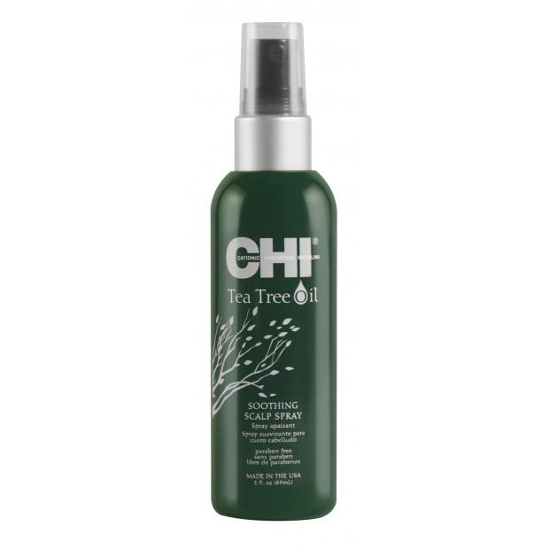 Успокояващ спрей за чувствителен скалп CHI Tea Tree Oil 89 мл