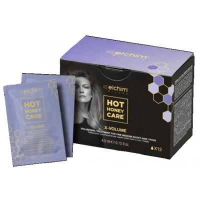 Подхранваща терапия за супер обем от корена ELCHIM Hot Honey Care X Volume Treatment 12 бр.