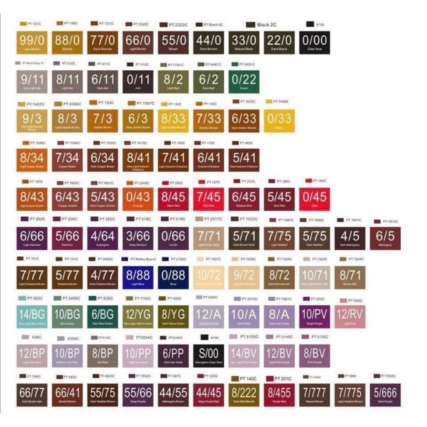 Ниско амонячна боя за коса със 100% арганово масло Kadiffe Color Cream 100 мл