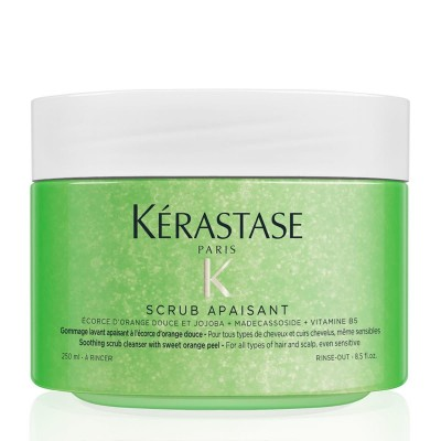 Успокояващ ексфолиант за чувствителен скалп и коса Kerastase Scrub Apaisant 250 мл