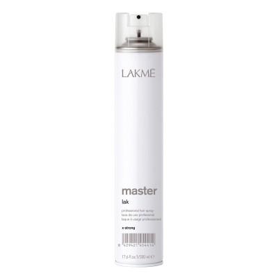 Сух лак за коса със силна фиксация LAKME Master Lak X-Strong 500 мл