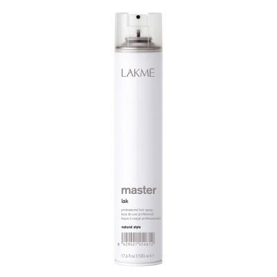 Сух лак за коса с нормална фиксация LAKME Master Natural Style 500 мл