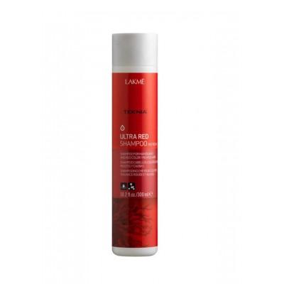 Оцветяващ шампоан за червени и махагонови коси LAKME Ultra Red 300 мл