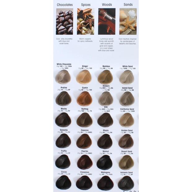 Боя за 3 вида боядисване на косата LANZA Healing Color 60/90 мл