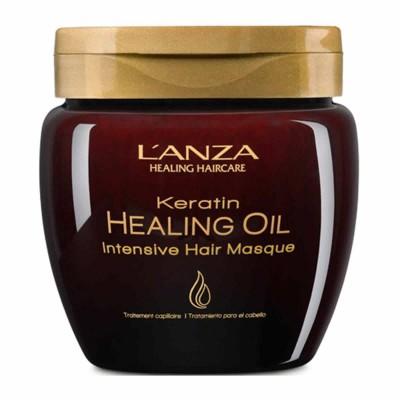 Интензивна възстановяваща маска LANZA Keratin Healing Oil 210 мл