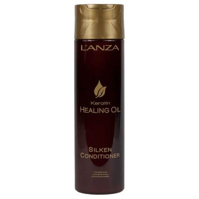 Възстановяващ балсам за суха и изтощена коса LANZA Keratin Oil 250 мл