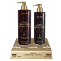 Терапия за критично увредени коси LANZA Keratin Emergency Service