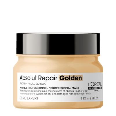 Лека златна маска за изтощена коса LOreal Professionnel Absolut Repair Golden Mask 250 мл