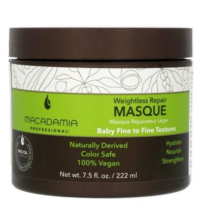 Хидратираща маска за тънка коса Macadamia Weightless Moisture 222 мл
