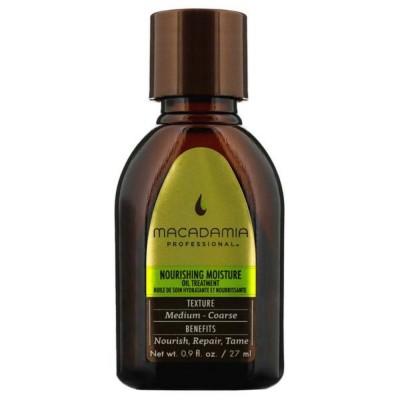Подхранващо олио за нормална коса Macadamia Nourishing Moisture 27 мл