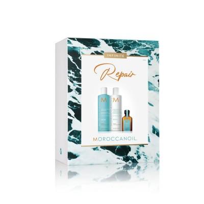 Комплект за възстановяване Moroccanoil Infinite + подарък олио 25 мл