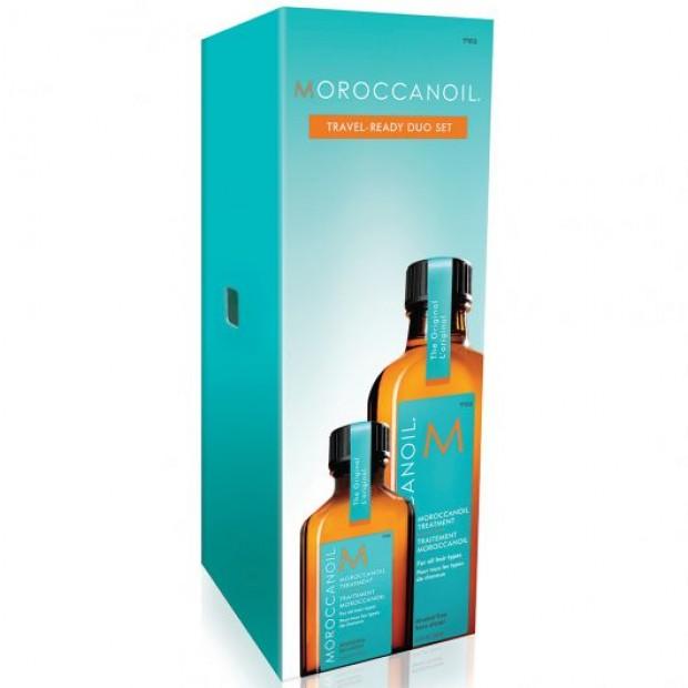 Комплект мароканско арганово олио за коса Moroccanoil On The Go Duo