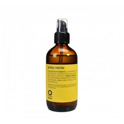 Възстановяващо олио за коса с термозащита OWAY Glossy Nectar 160 мл