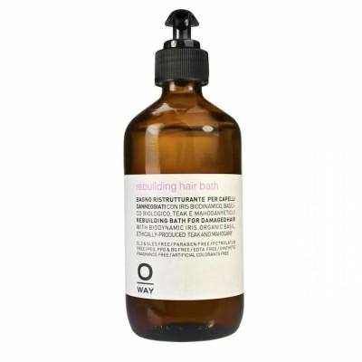 Възстановяващ шампоан за силно увредена коса OWAY Rebuilding Hair Bath 240 мл