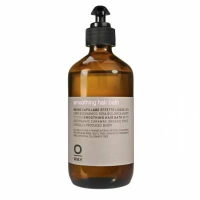 Изглаждащ шампоан за суха и непокорна коса OWAY Smoothing Hair Bath 240 мл