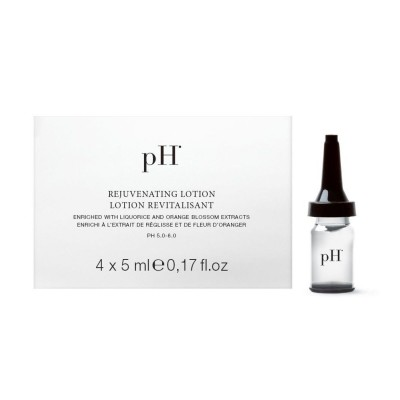 Ампули против косопад pH Laboratories Rejuvenating Lotion 4бр. х 5мл
