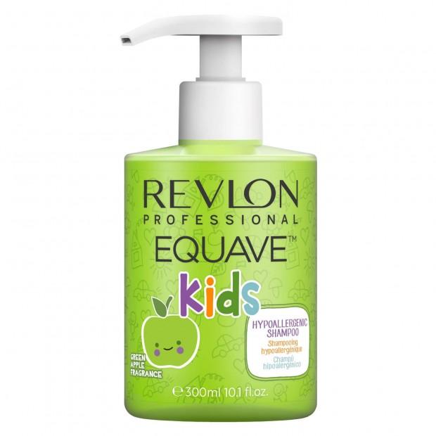 Шампоан и балсам 2 в1 със зелена ябълка EQUAVE 2IN1 Shampoo Hypoallergenic 300мл