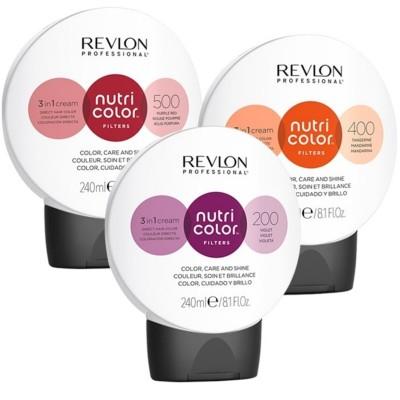 Оцветяваща маска 3 в 1 Revlon Professional Nutri Color Fashion Filters 240 мл