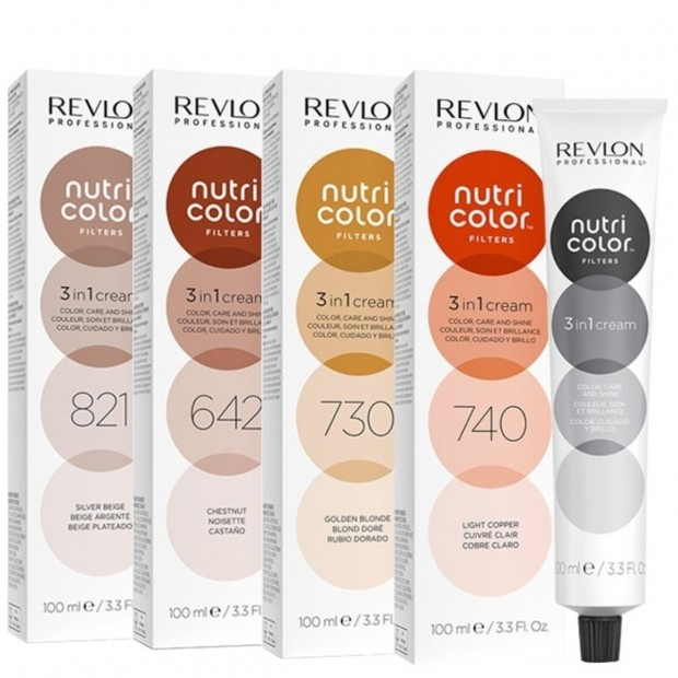 Оцветяваща маска 3 в 1 Revlon Professional Nutri Color Nutri Color Toning Filters 100 мл