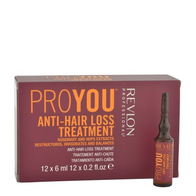 Терапия против косопад Revlon Professional Anti-Hair Loss Treatment 12x6 мл
