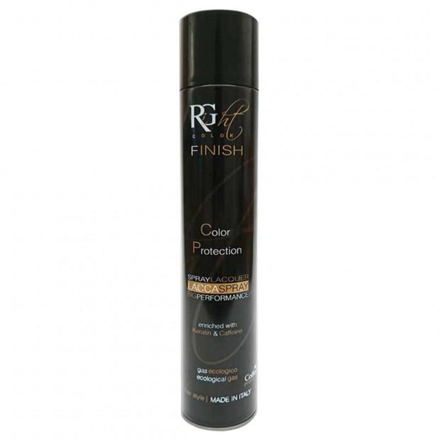 Лак за коса със силна фиксация с кофеин, кератин и арган Right Color Laque Spray 500 мл
