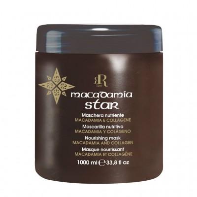 Подхранваща маска с макадамия и колаген RR Line Macadamia Star 1000 мл